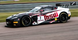 Reigning champions raise roof at Rockingham for Round 3 pole